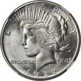 Value of 1922-S Silver Peace Dollar | Peace Dollar Buyer