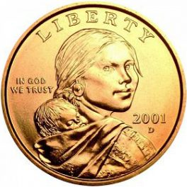 Value Of 2001 D Sacagawea Dollar We Are Rare Coin Buyers