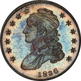 Reeded Edge Capped Bust Half Dollars (1836-1839) Image