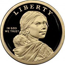 2010 S Sacagawea Native American Gem Proof US Coin Gem Modern Dollar $1 DCAM US Mint