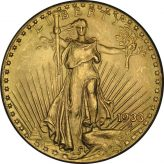 St. Gaudens $20 Gold (1907-1933) Image