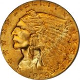 Indian Quarter Eagle (1908-1929) Image
