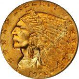 Indian Quarter Eagle (1908-1929) Image