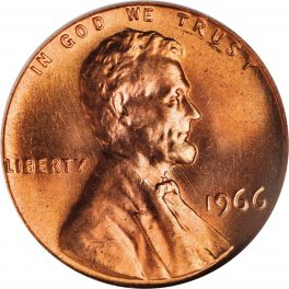 Value of 1966 Lincoln Cents | We Appraise Modern Coins