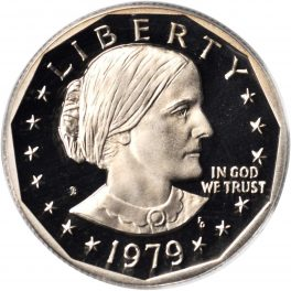 Value of 1979-D Susan B  Anthony Dollar | Sell Modern Coins