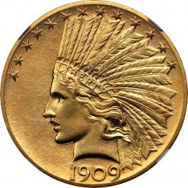 Value Of 1909 Indian Head 10 Gold Sell Your Rare Coins