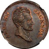 Andrew Jackson Hard Times Tokens (1832-1834) Image