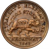 Civil War Tokens (1850-1873) Image