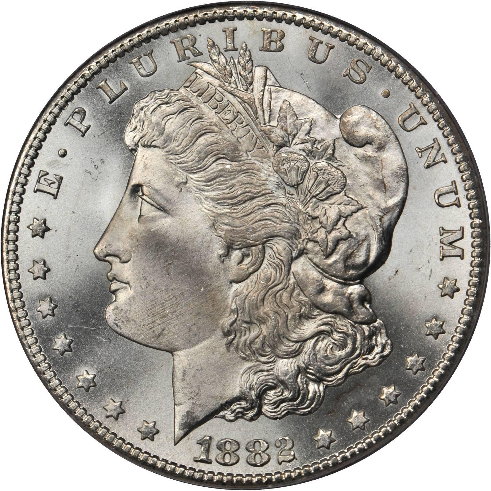 Value Of 1882 Cc Morgan Dollar Rare Silver Dollar Buyers