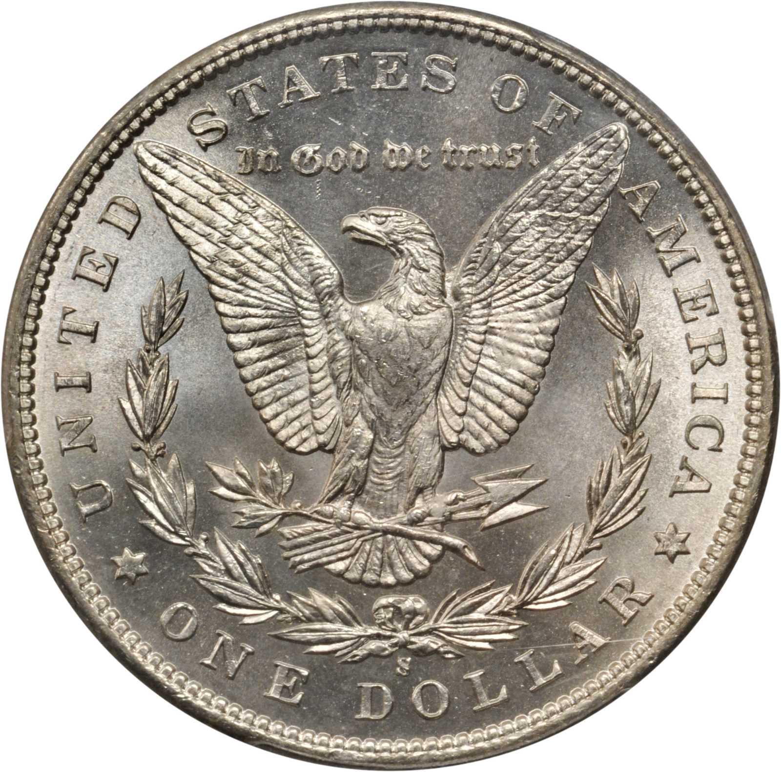 Value of 1899-S Morgan Dollar   Rare Silver Dollar Buyers