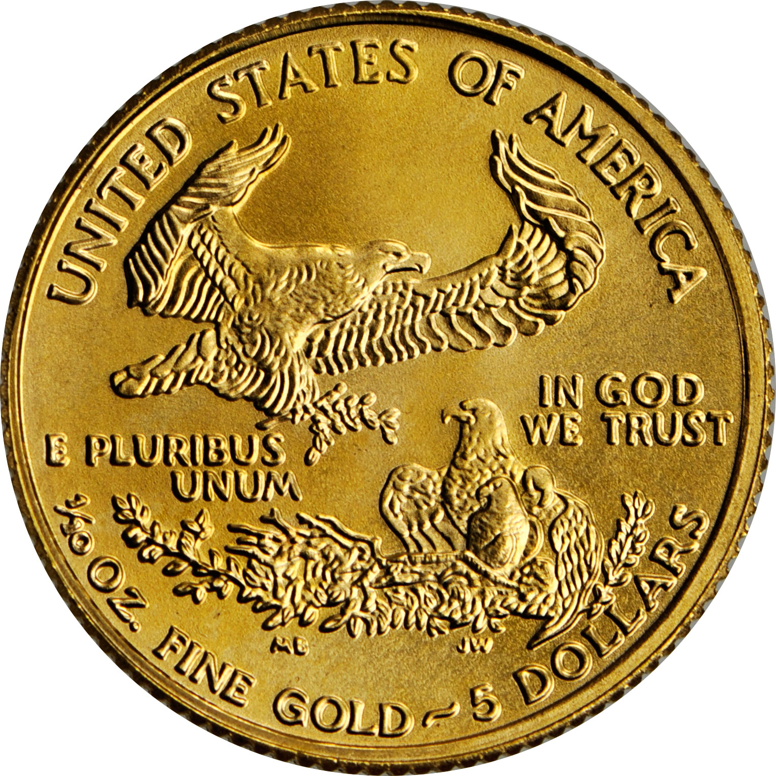 Gold Coin 10 Oz American Eagle