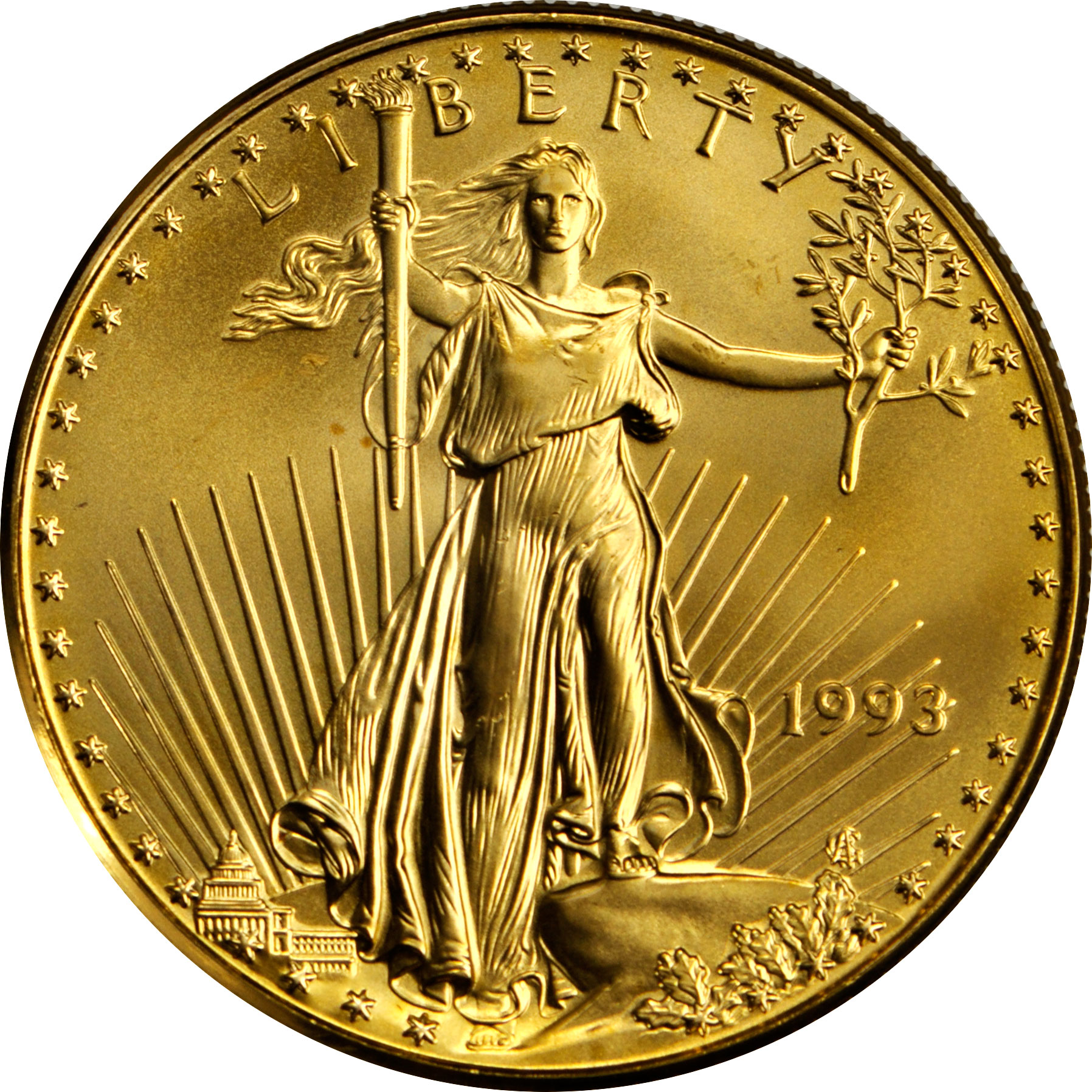 Value Of 1993 5 American Gold Eagle Coin