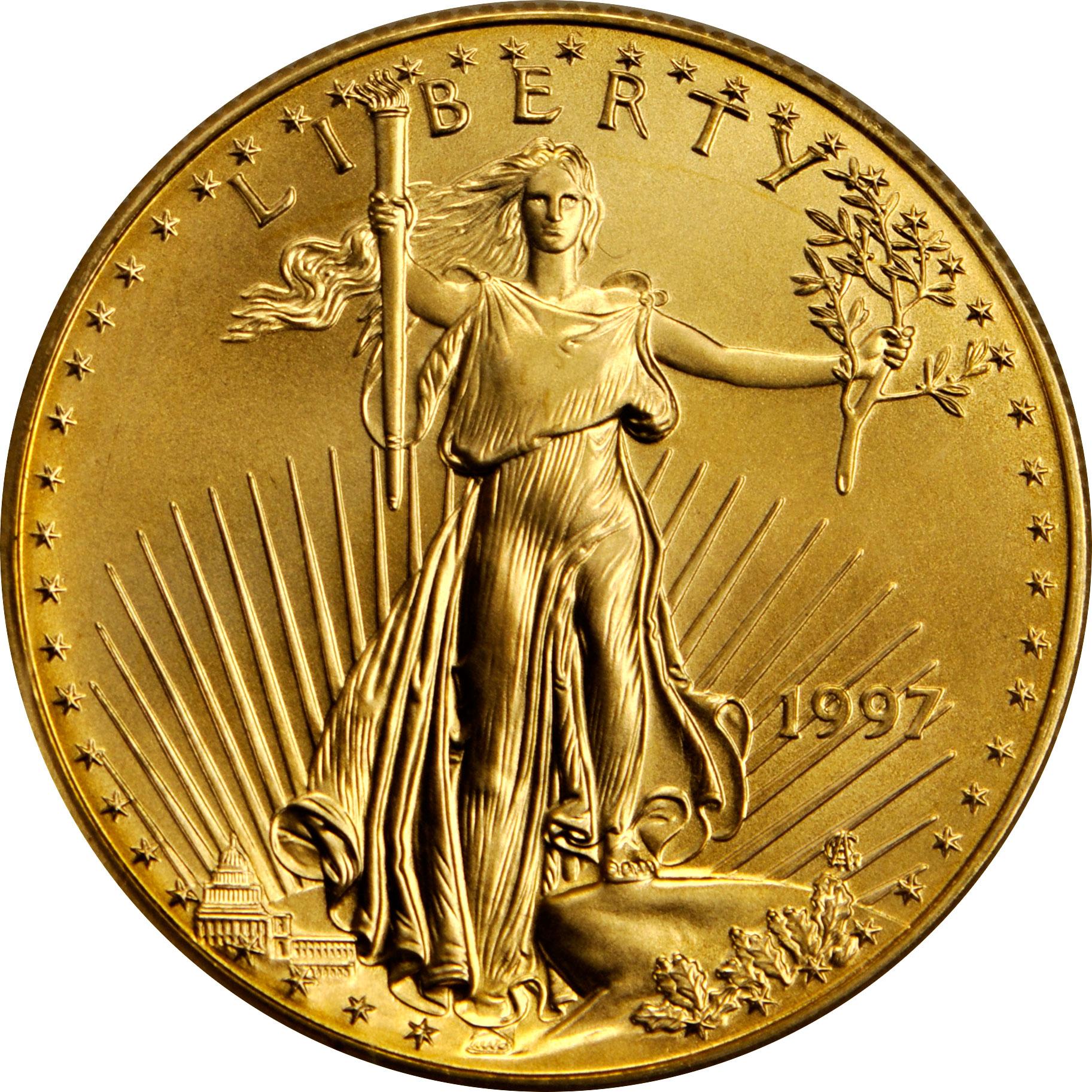 Value Of 1997 50 Gold Coin 1 Oz