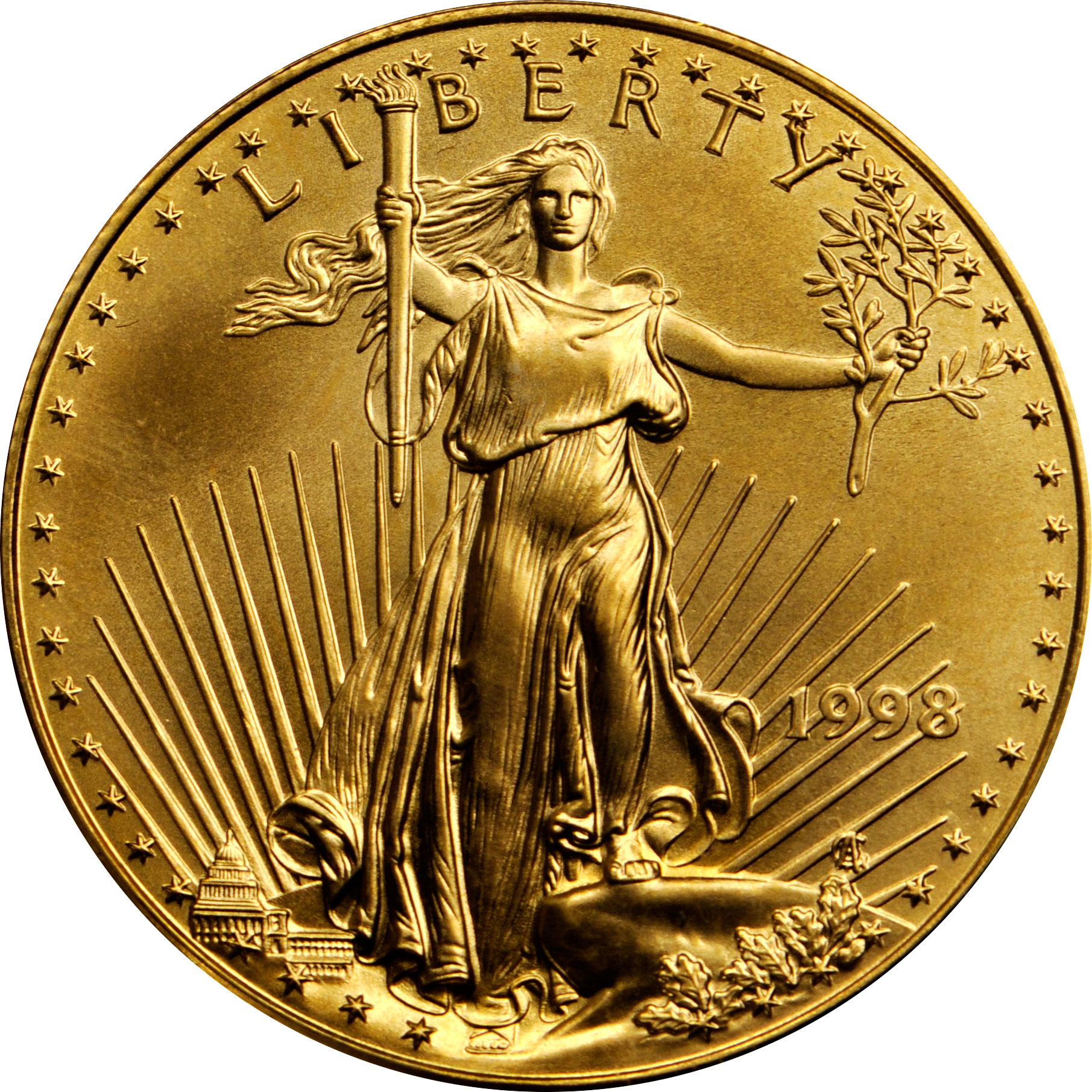 Value Of 1998 10 Gold Coin Sell 25 OZ U S A Gold Eagle