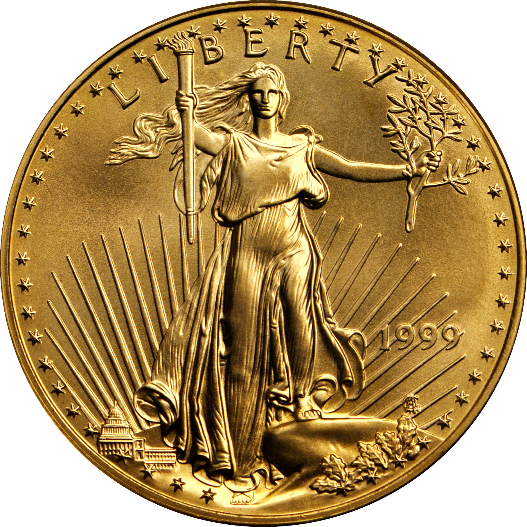 Value Of 1999 5 American Gold Eagle Coin
