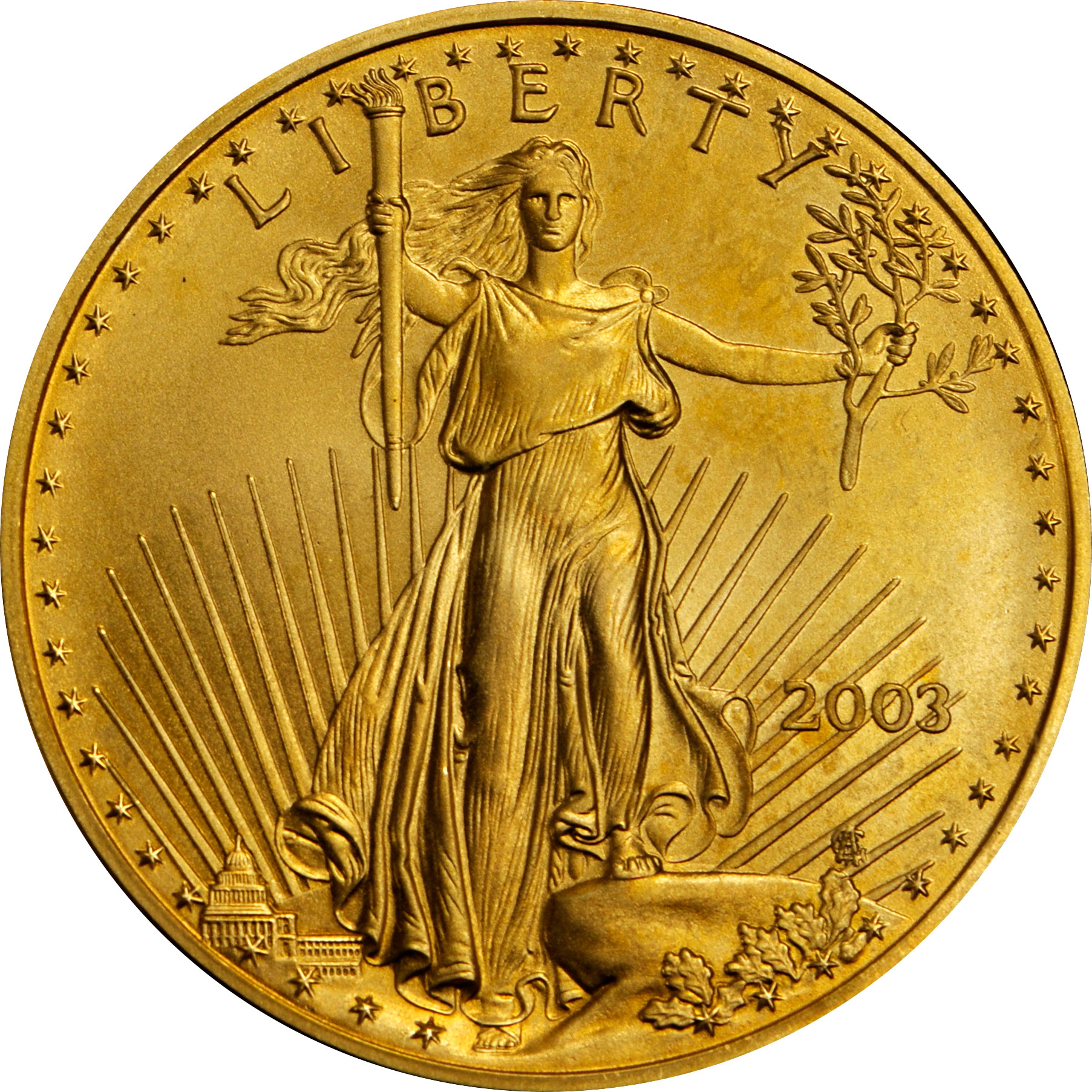 Value Of 2003 5 American Gold Eagle Coin