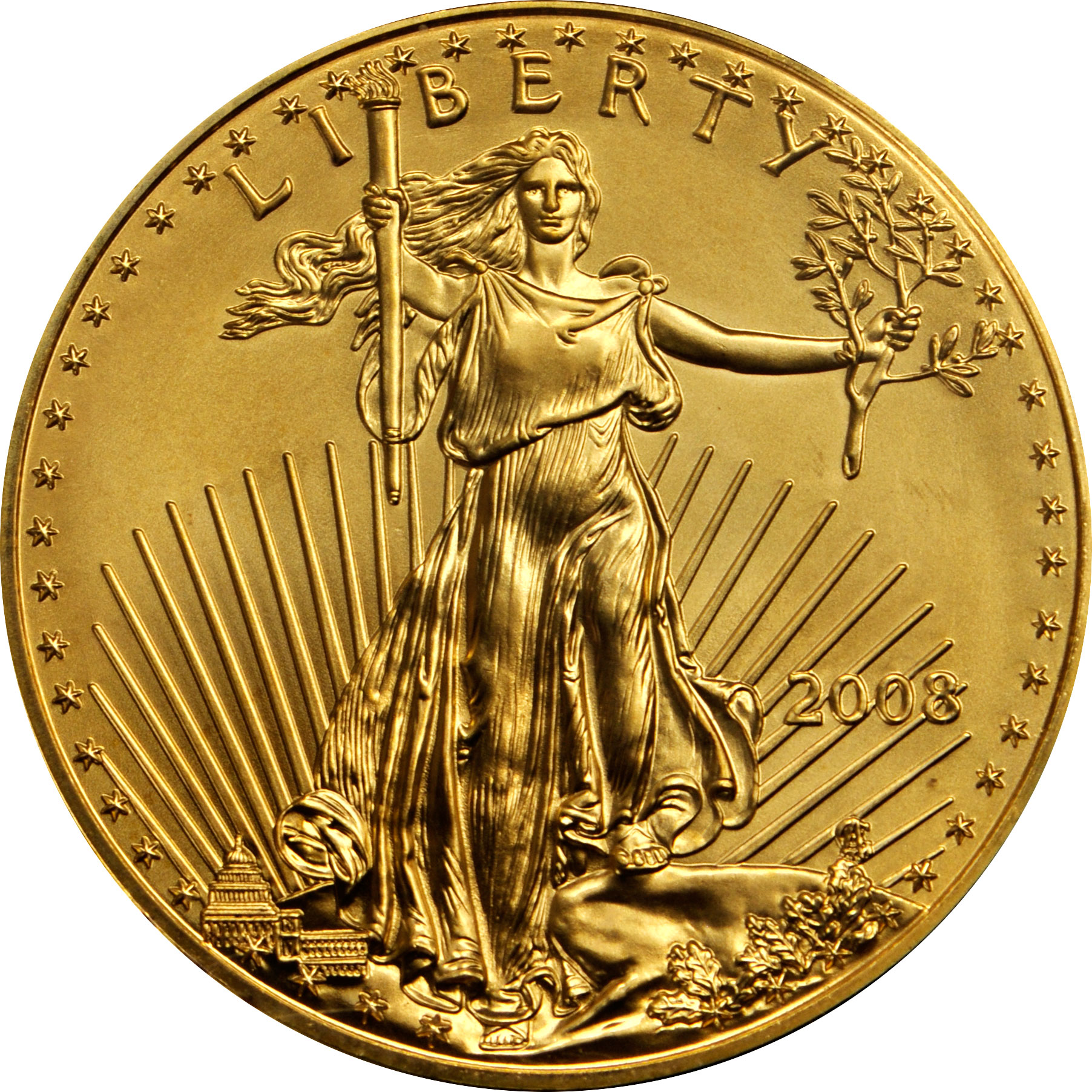 Value Of 2008 10 Gold Coin Sell 25 OZ U S A Gold Eagle