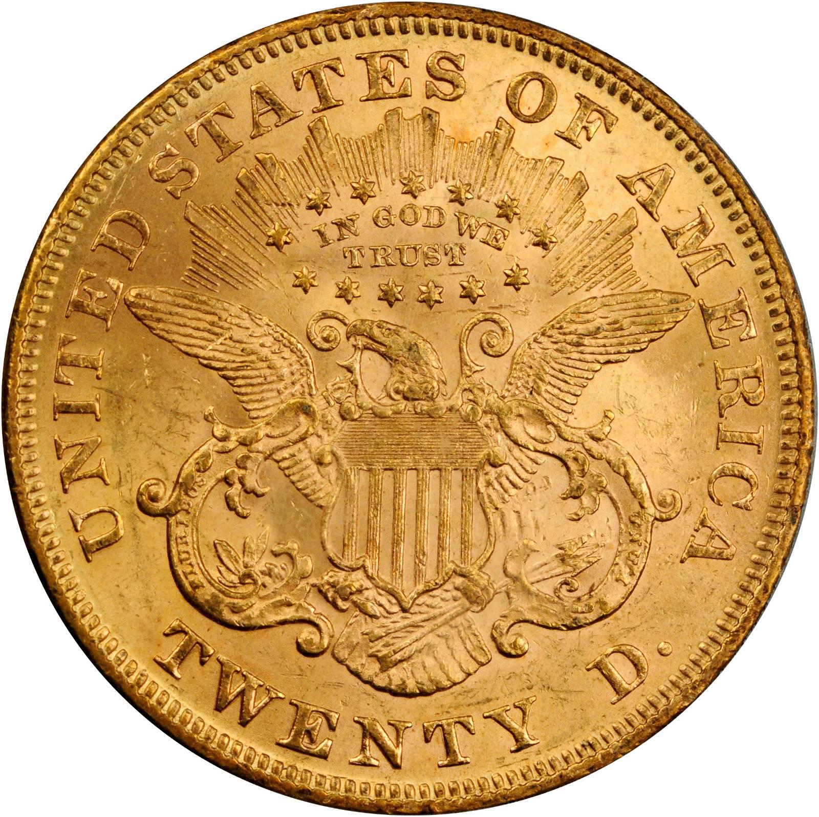 Value Of 1875 20 Liberty Double Eagle Sell Rare Coins