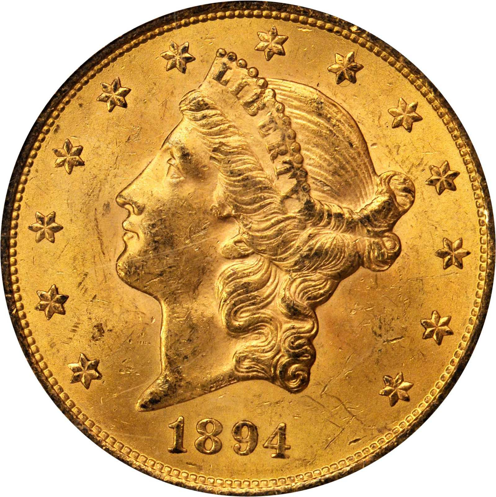 Value Of 1894 S 20 Gold Coin