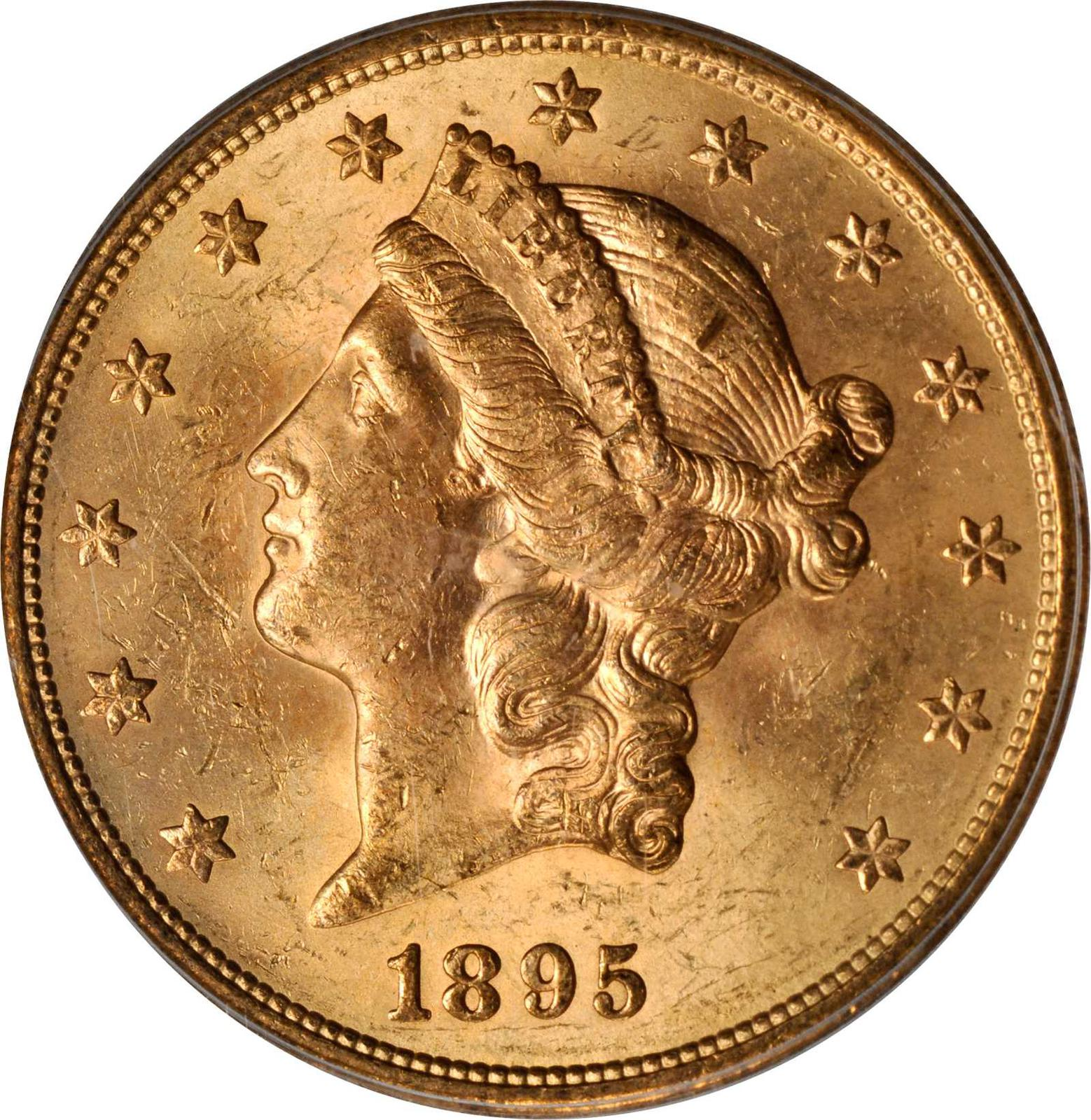 Value Of 1895 S 20 Liberty Double Eagle Sell Rare Coins