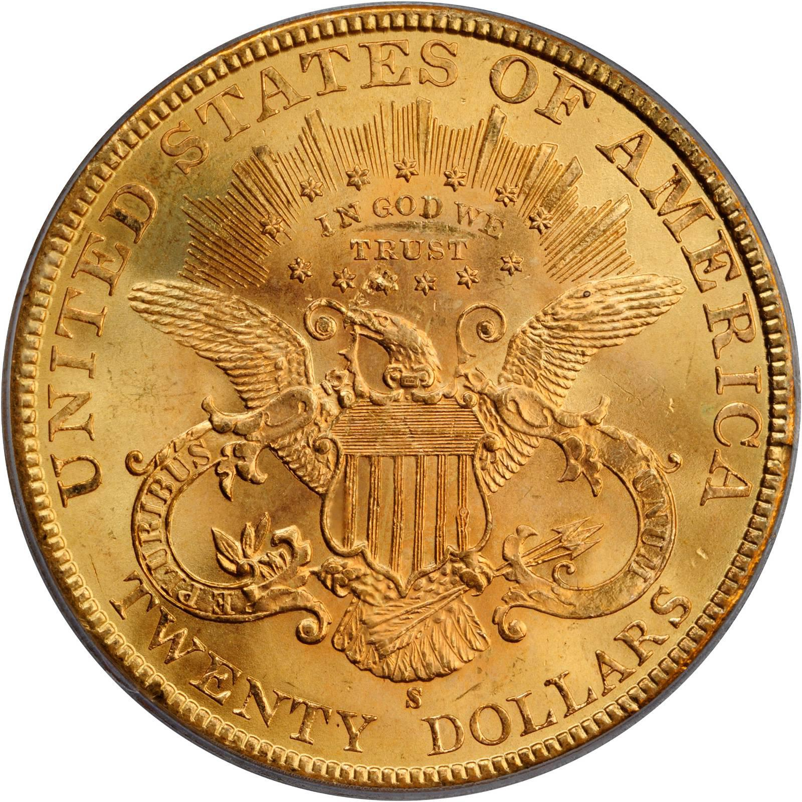 Value Of 1898 S 20 Liberty Double Eagle Sell Rare Coins