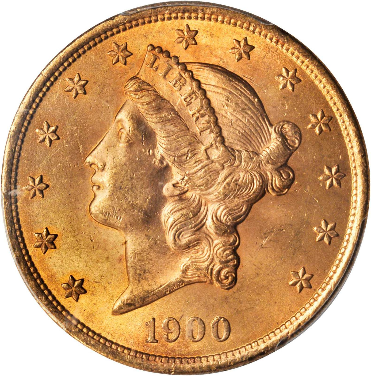 Value Of 1900 20 Liberty Double Eagle Sell Rare Coins