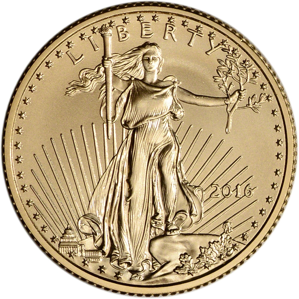 Value Of 2016 10 Gold Coin Sell 25 OZ U S A Gold Eagle