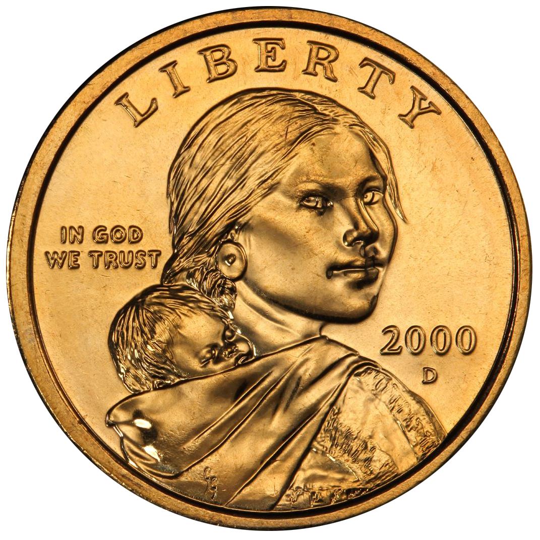 Value Of 2000 D Sacagawea Dollar We