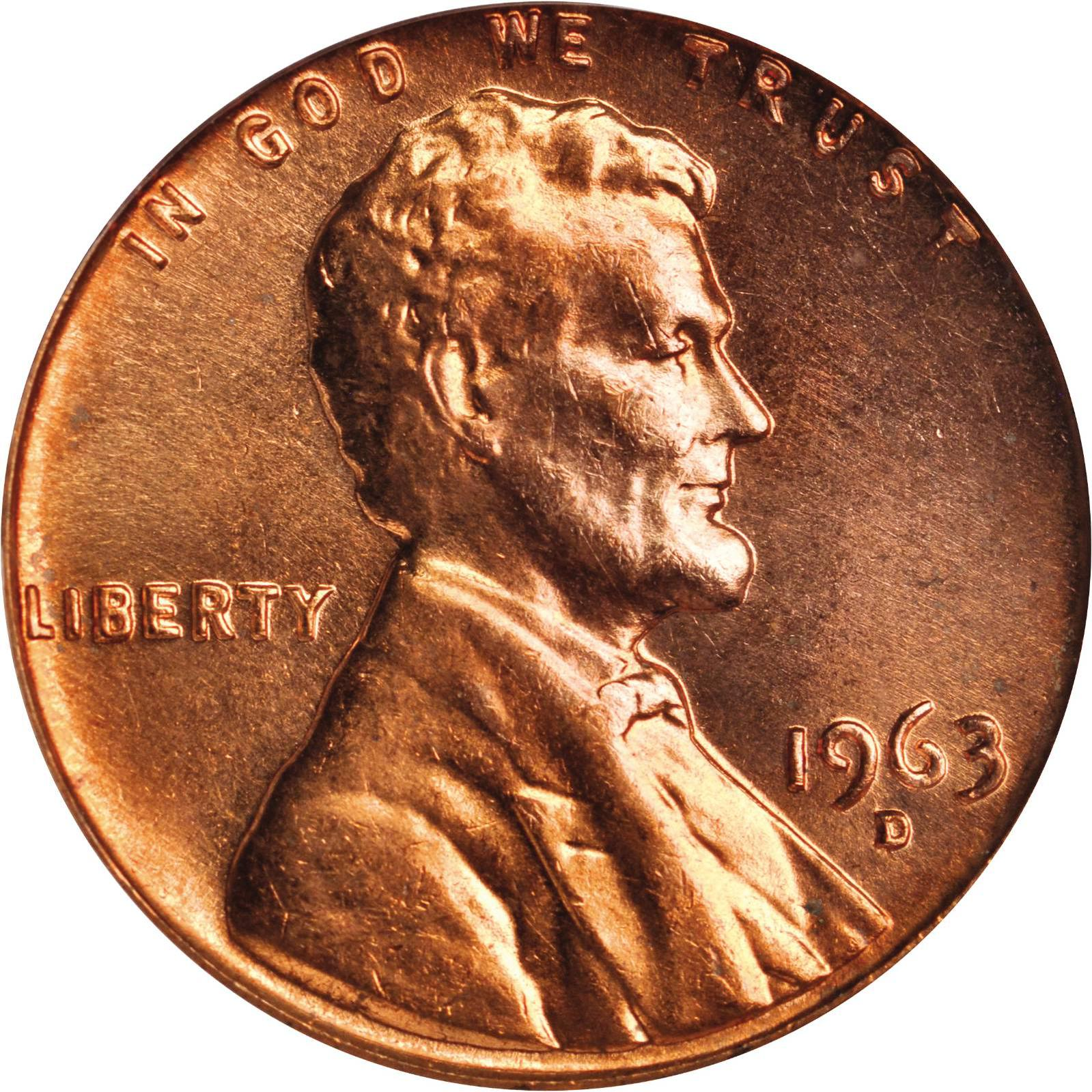 Value Of 1963 D Lincoln Cents We Appraise Modern Coins
