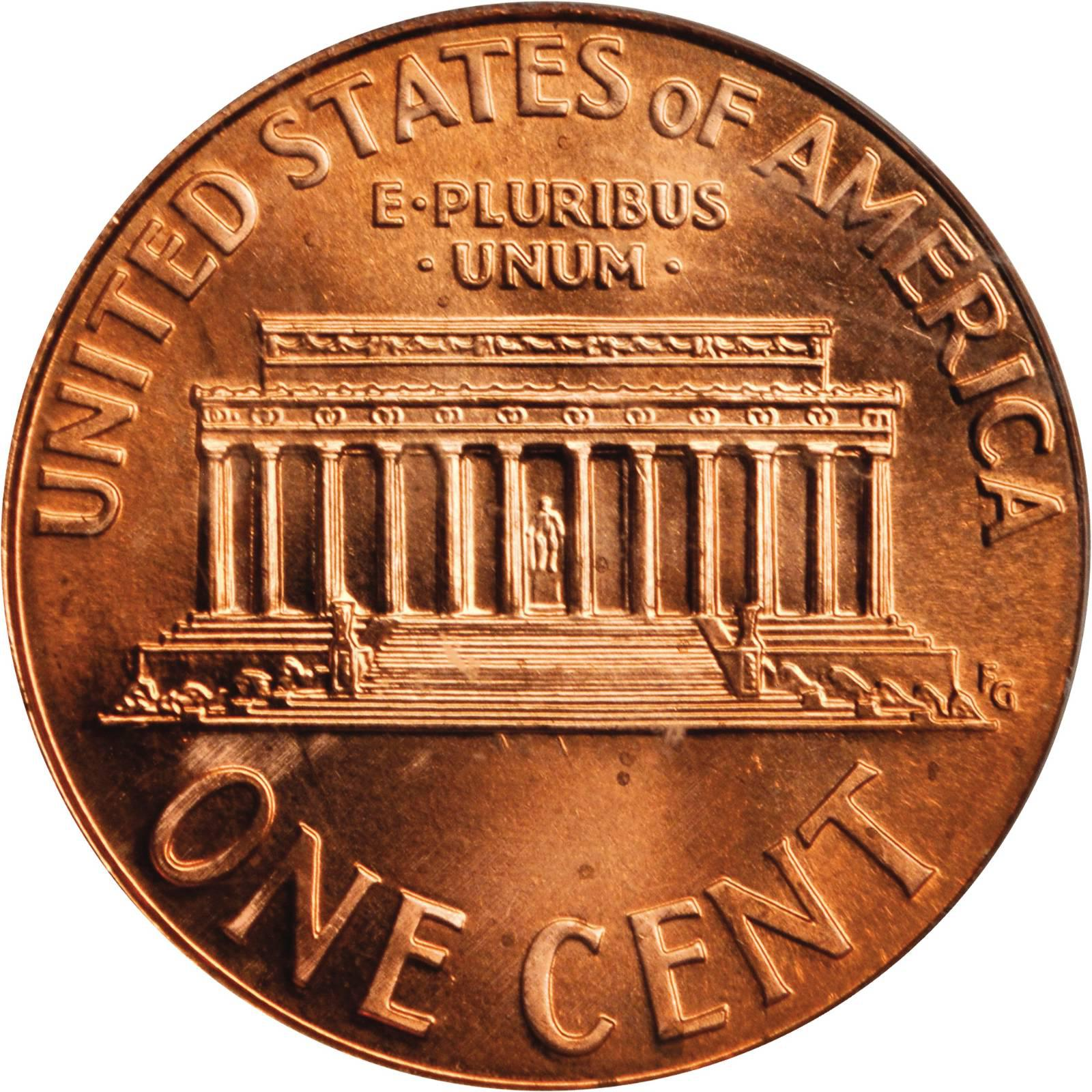 1998 S 1c Lincoln Memorial Cent Penny US Coin Choice Proof