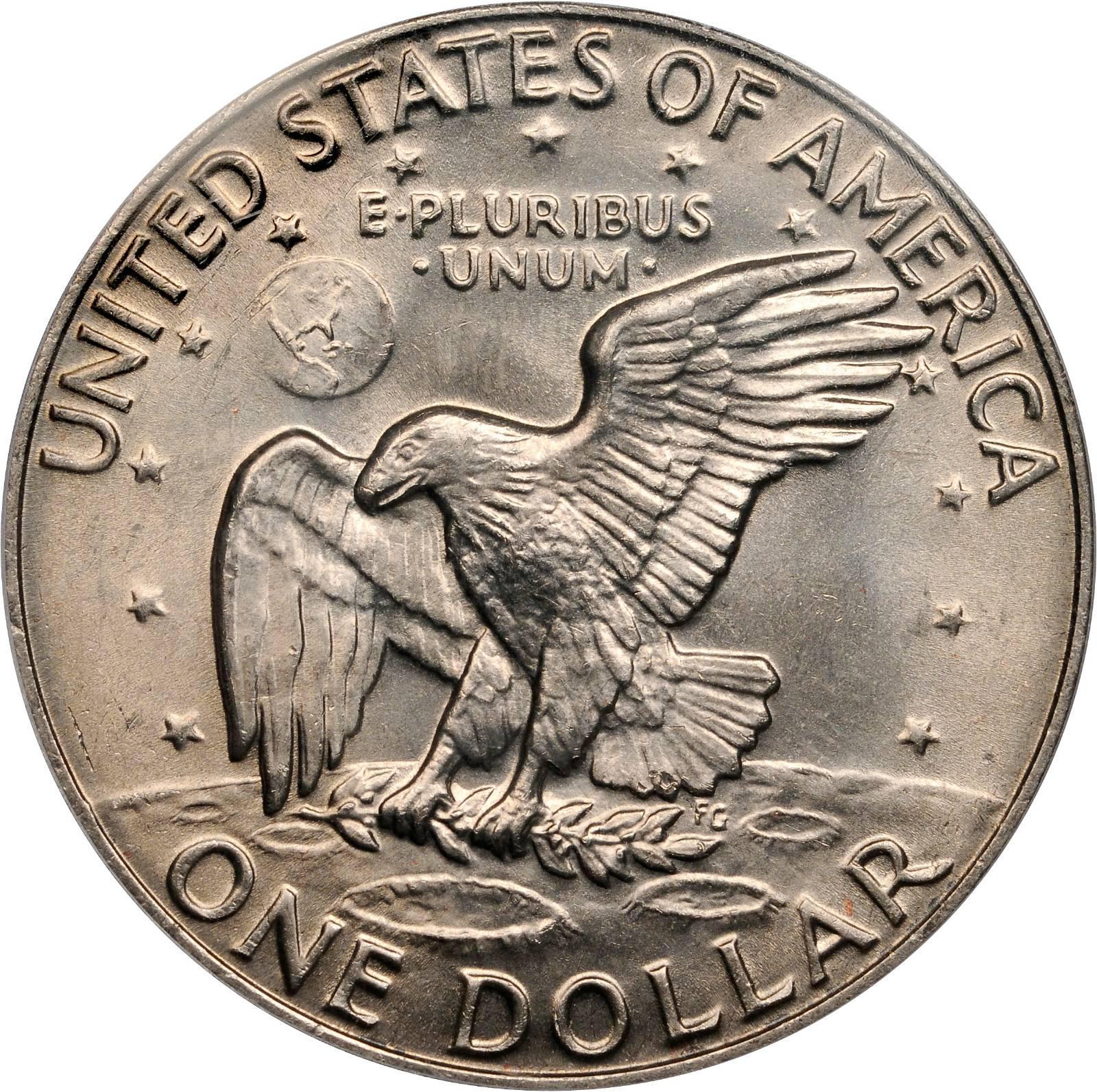 Value Of 1977 Eisenhower Dollar Sell Modern Coins