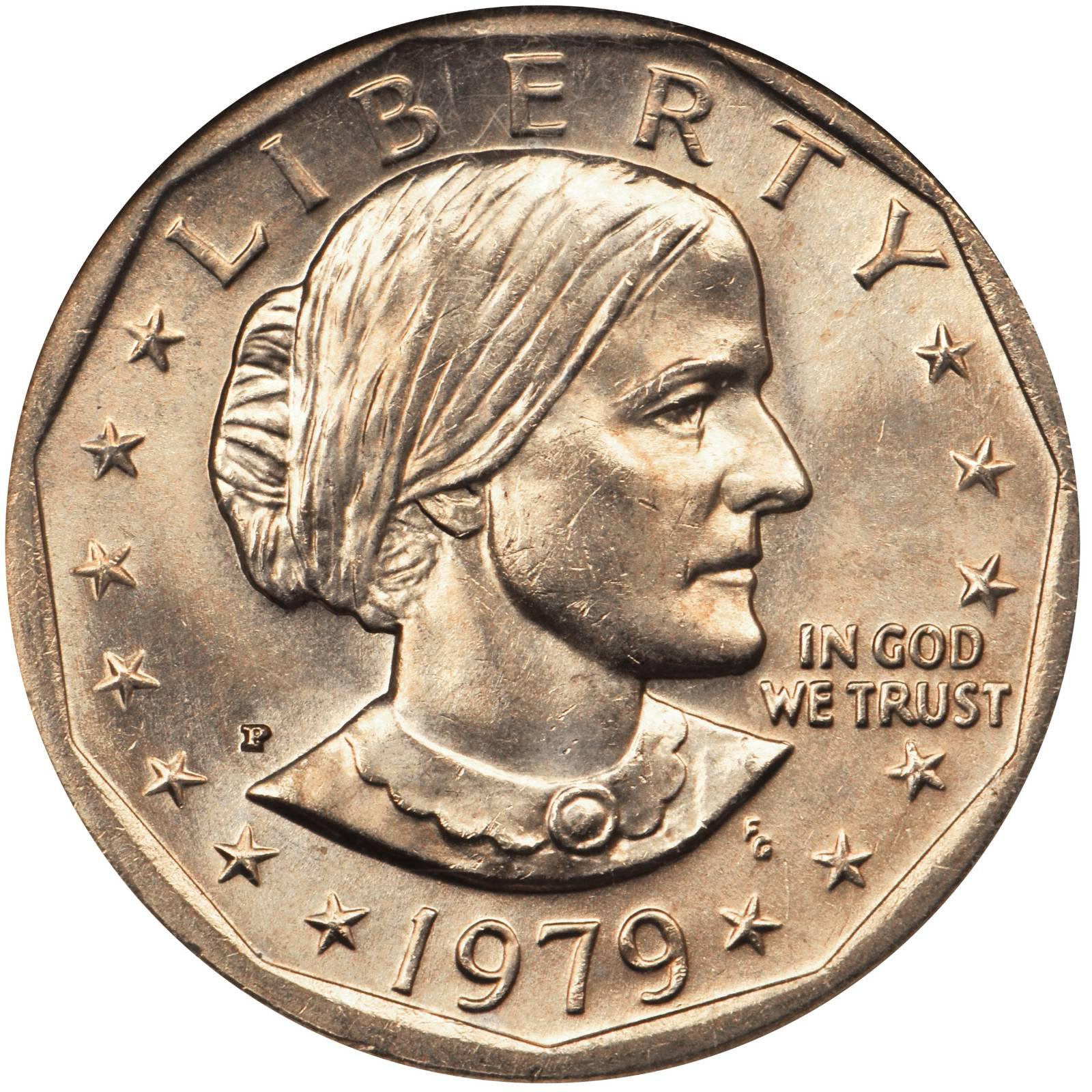 susan b anthony 1 dollar coin value