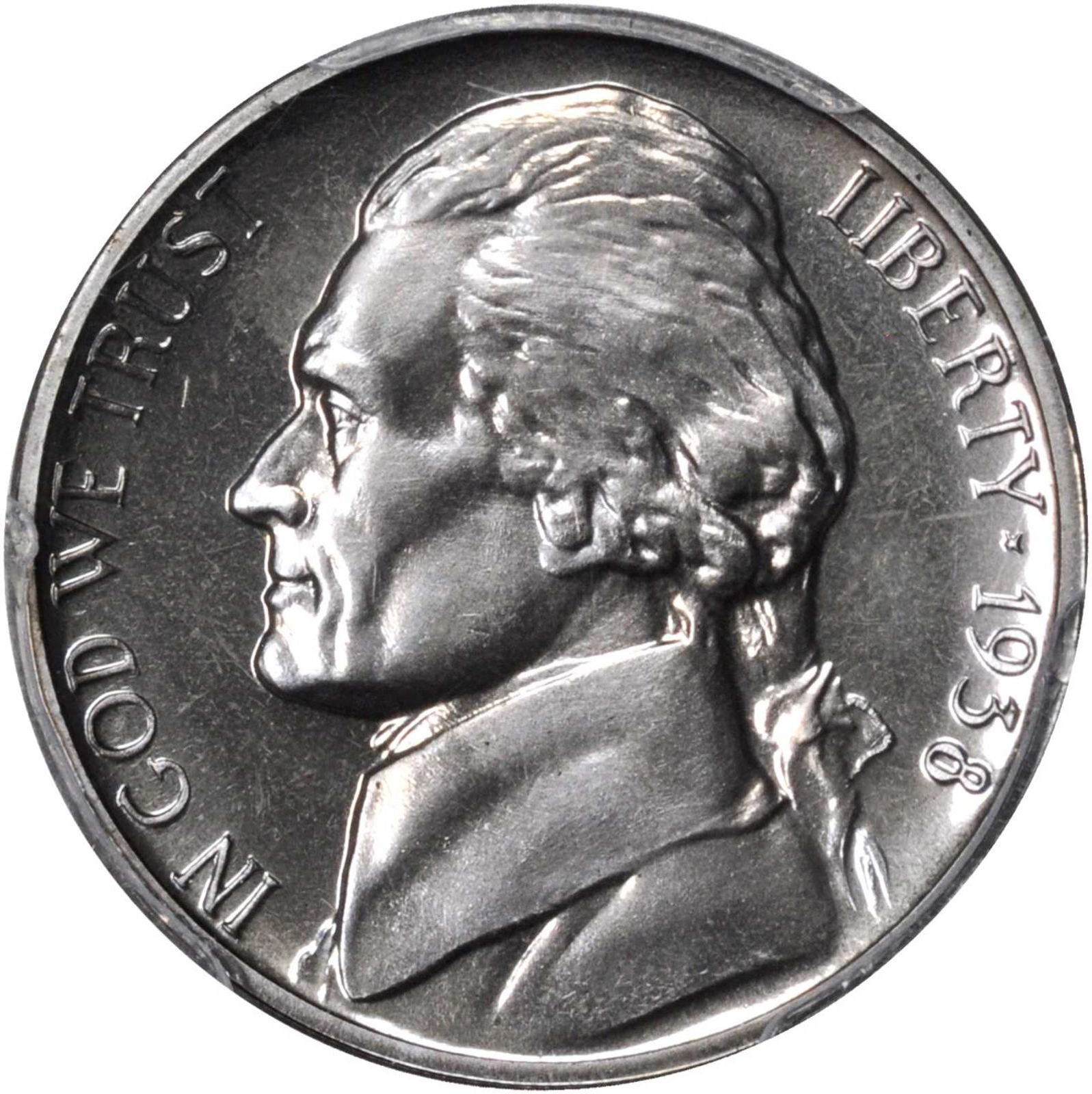 who is on the nickel coin