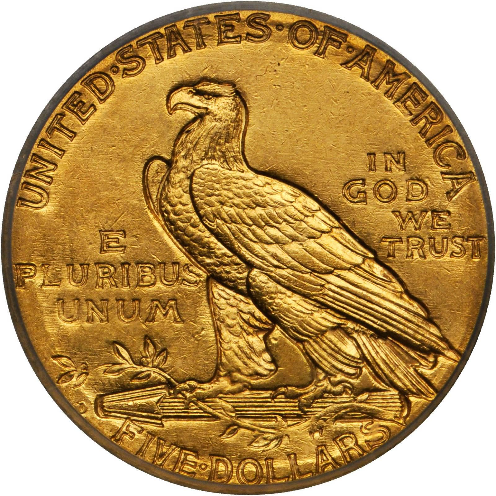 Value Of A 1909 O Indian 5 Gold We Are Rare Coin Buyers