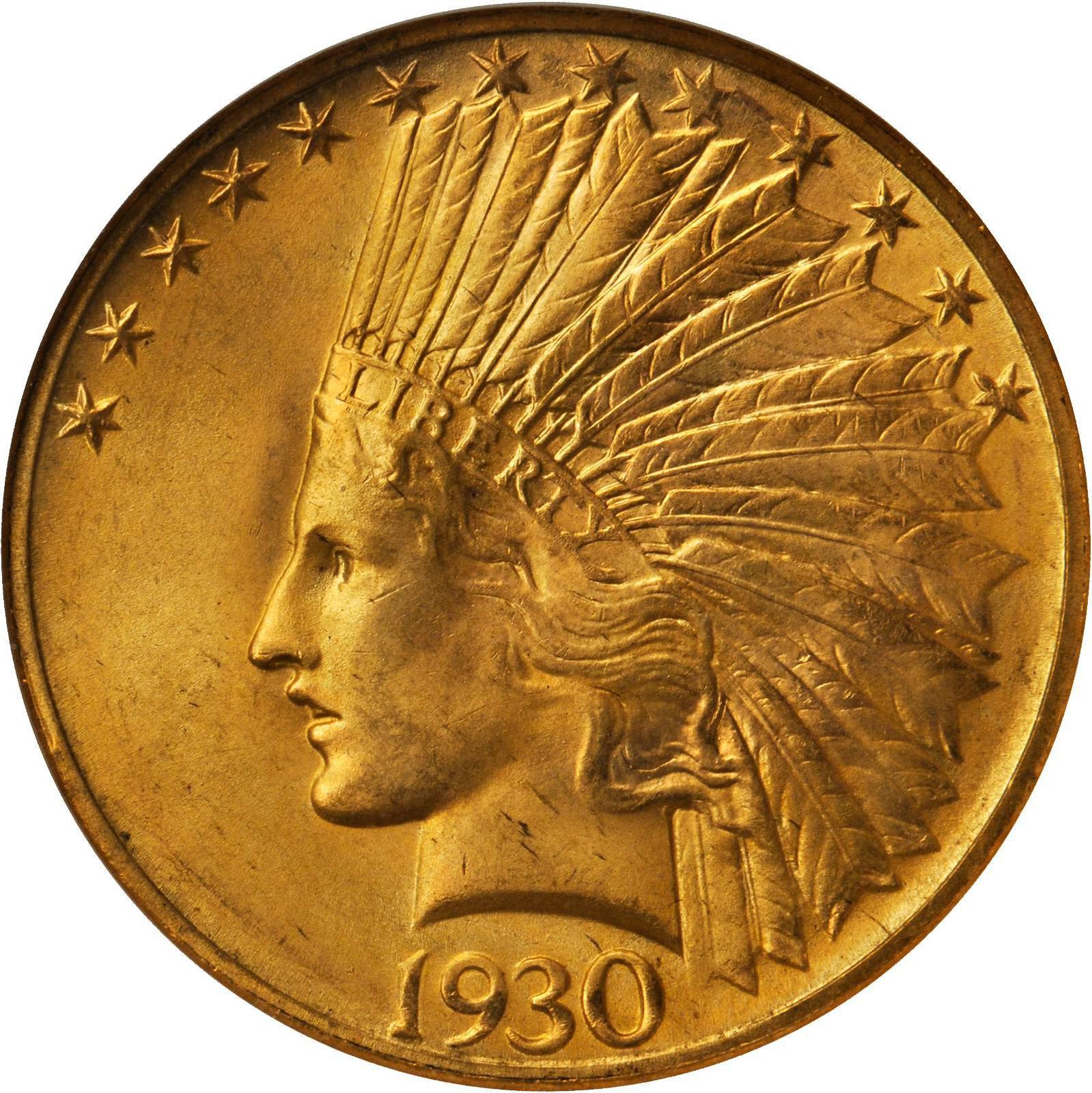 1930 20 dollar gold coin
