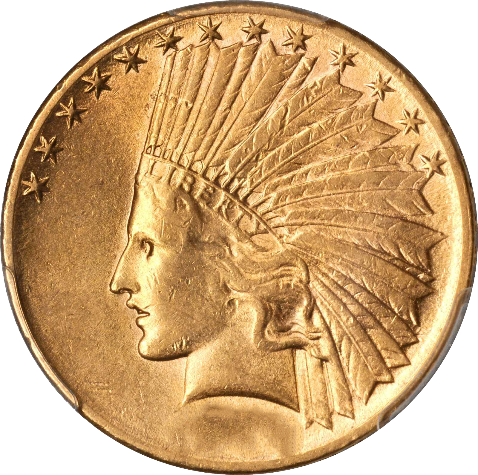 1914 indian head $10 gold coin