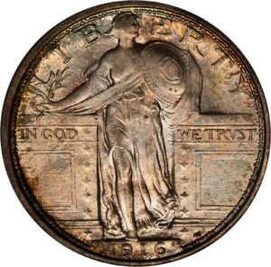 1916 Standing Liberty