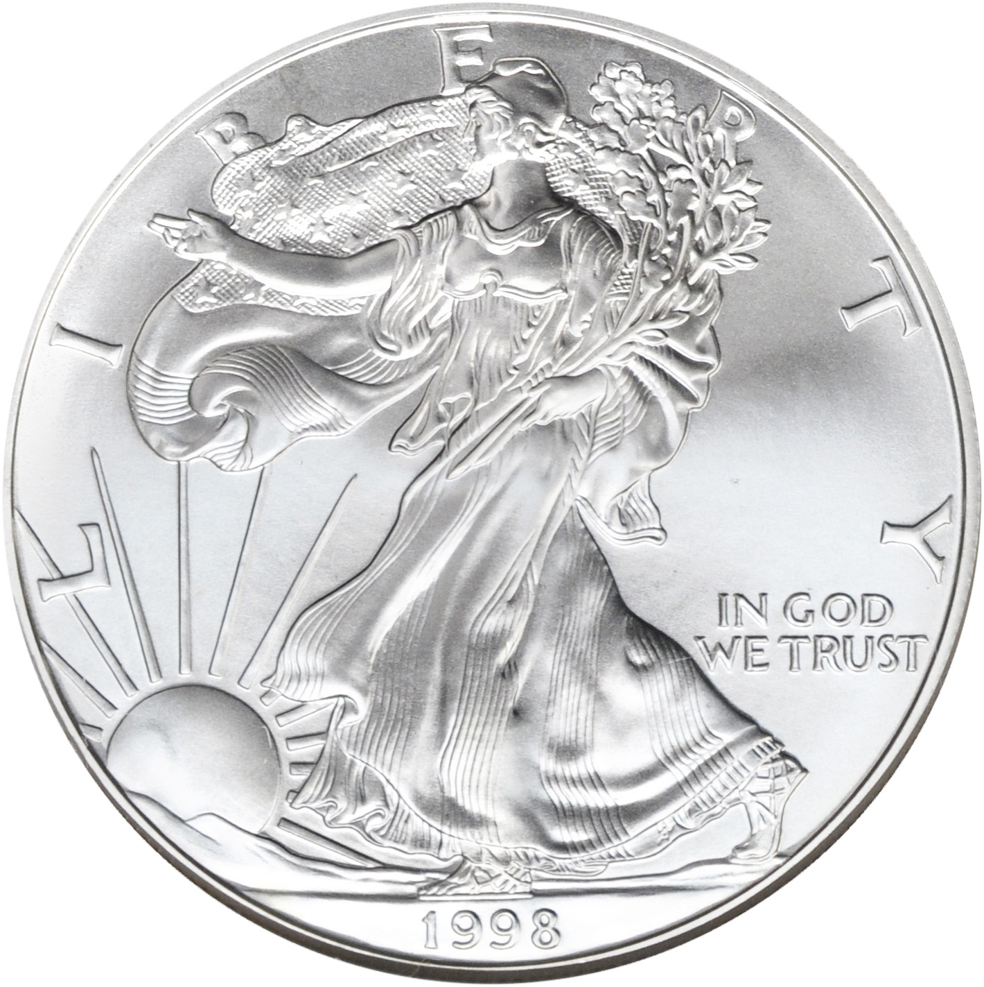 Value Of 1998 American Silver Eagle 1 Coin