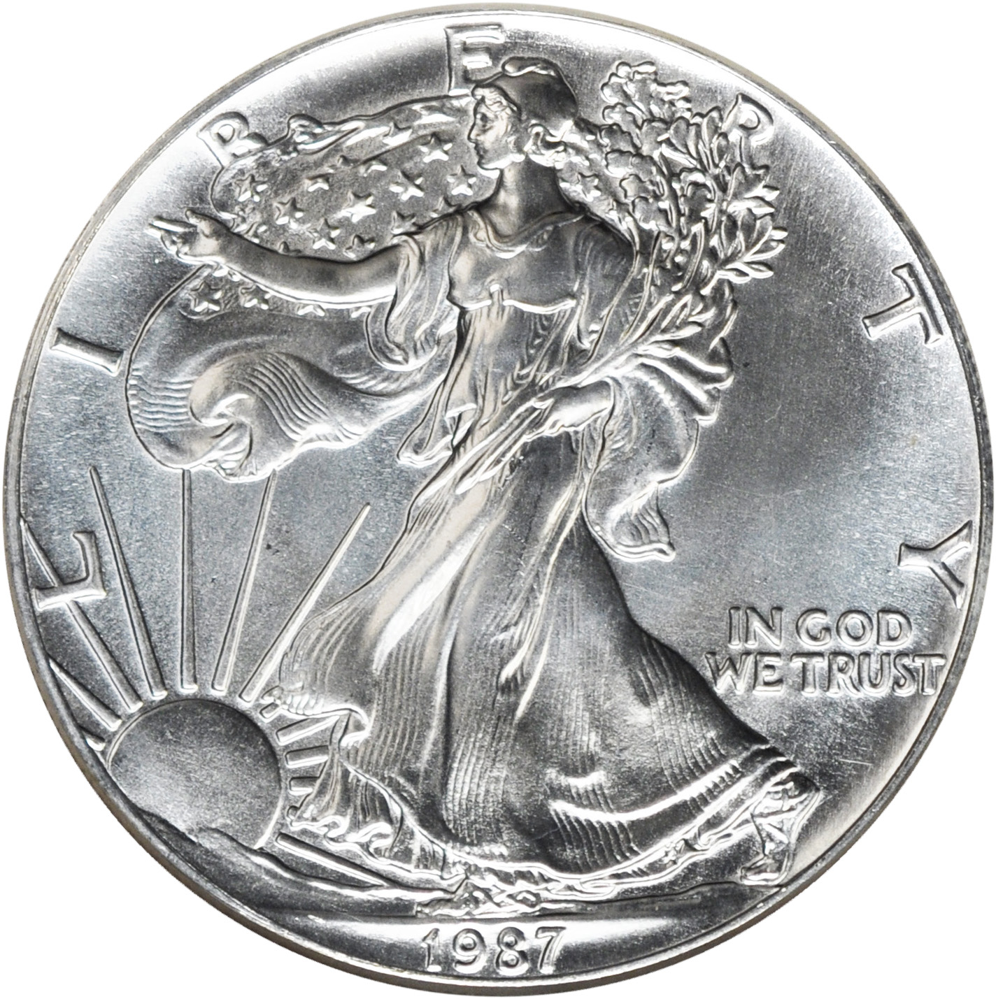 Value Of 1987 1 Silver Coin American