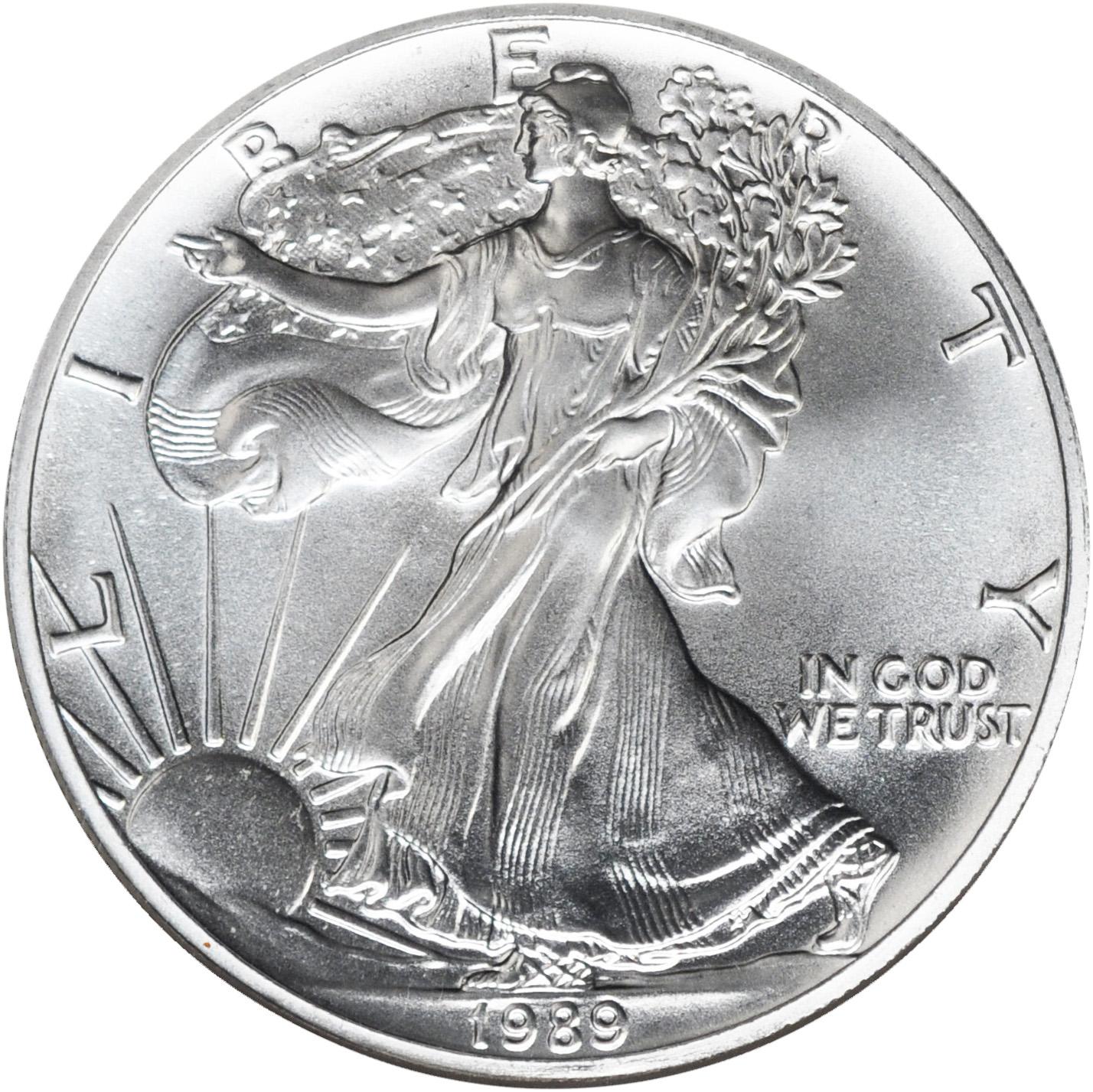 1 Oz Silver One Dollar Coin Value December 2019