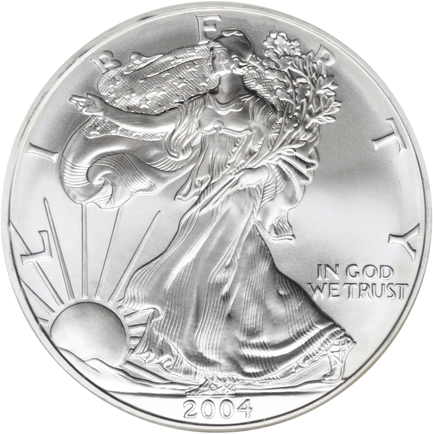 Value Of 2004 American Silver Eagle 1 Coin