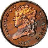 Classic Head Half Cent (1809-1836) Image