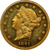 Liberty Head Double Eagle (1849-1907) Image