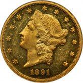 Liberty Head Double Eagle (1849-1907) Image