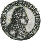 Betts Proclamation Pieces of Ferdinand VI Medals (1746-1747) Image