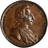 Betts Proclamation Pieces of Charles III of Spain Medals (1760-1761) Image