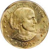 Susan B. Anthony Dollar (1979-1999) Image