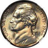 Jefferson War Nickel (1942-1945) Image