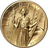 High Relief $100 Gold (2015) Image