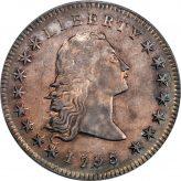 Flowing Hair Dollar (1794-1795) Image